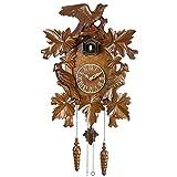 Los Relojes De Cuco, Hechos A Mano De Madera del Reloj De Cuco Antiguo Clock- Movimiento con Pilas De Cuarzo, para La Sala De Estudio, Oficina, Dormitorio, Sala De Estar, Etc