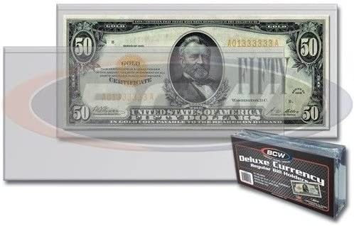 BCW Deluxe Outlet sale feature Regular Bill Currency Oklahoma City Mall ct Holder 10 -