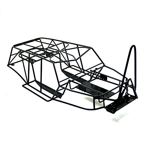 XUNJIAJIE Stahl Überrollkäfig Roll Cage Käfig Chassie für 1/10 Crawler Modell Auto Axial Wraith 90018