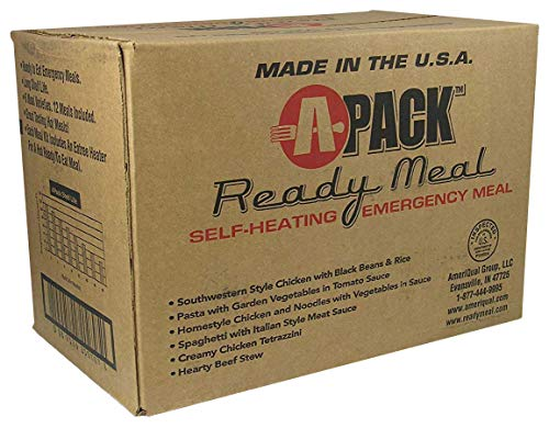 A-PACK Ready Meal 12 MRE Kit