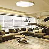 FSBMIN Plafoniera da soffitto 18W LED Lampada impermeabile a sottile Bianco naturale 6500K...