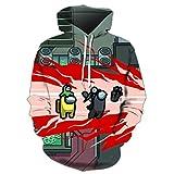 Sudaderas con capucha 3d para hombres y mujeres, sudaderas frescas para adolescentes, suéteres para niños y niñas, ropa casual de hip hop