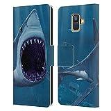 Head Case Designs sous Licence Officielle Vincent HIE Morsure De Requin sous l'eau Coque en Cuir à...