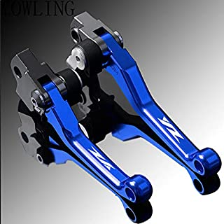Value-Home-Tools - Pivot Foldable Handbrake Handle Brakes Clutch Levers For YAMAHA YZ85 YZ125 YZ250 YZ250F YZ450F YZ426F 2015 2016 2017 2018 2019