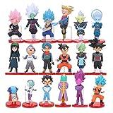 EASTVAPS 18pcs Anime Dragon Ball Figurine Jouet