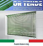 ORTENDE - Tende Veneziana da 50 mm con Nastro in Corda/Terilene, Produzione su Misura, Non...