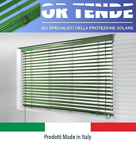 ORTENDE - Tende Veneziana da 50 mm con Nastro in Corda/Terilene, Produzione su Misura, Non Kit Cinesi di pessima QUALITA\'.