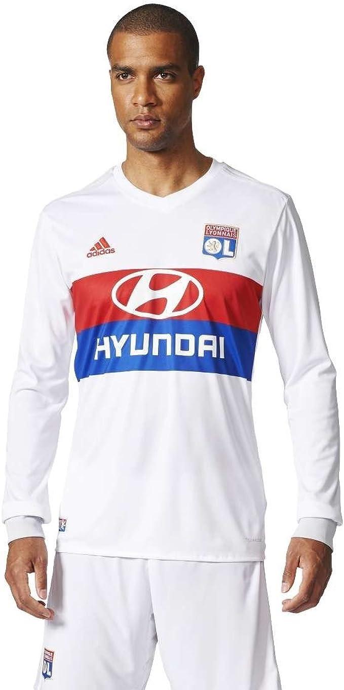 adidas Olympique Lyon 2017-2018 H JSY L Maglietta Uomo