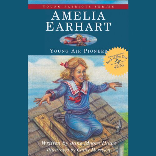 Amelia Earhart audiobook cover art