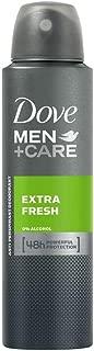 Dove Men + Care Antiperspirant Deodorant, Extra Fresh, 150ml