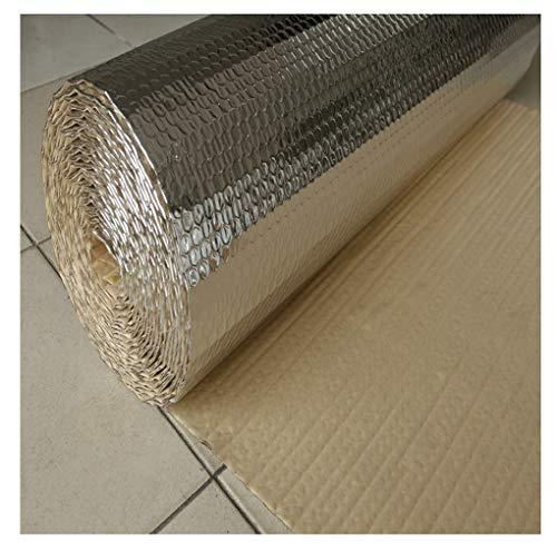 Selbstklebend Wand Isolierung Isolierfolie Dämmfolie Aluminium Strahlt Die Wärme Heizkörpers Isolierfolie Thermisch Aluminium-Thermo-Folie Folien-Blase Isoliertapete Wand Isolierung (Size : 1 * 30m)
