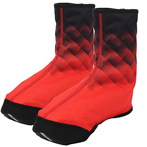 Alomejor Cubrezapatillas Cubrezapatillas de Bicicleta Completas Cubrezapatillas de Ciclismo Fundas de Calzado Antideslizantes Impermeables para Hombres Mujeres(XL)