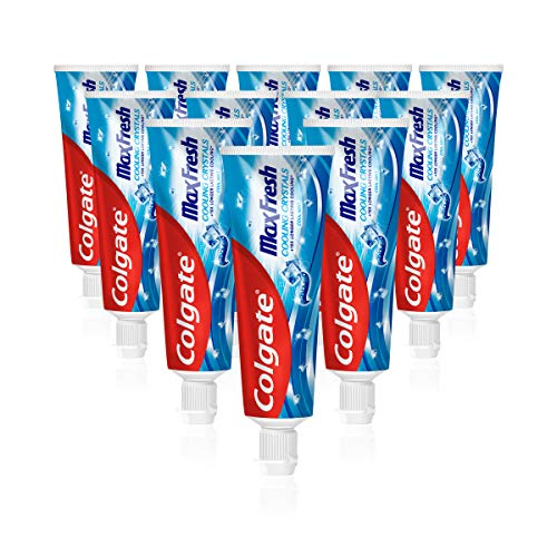 Colgate Max Fresh Cooling Crystals Zahnpasta, 12er Pack (12 x 75 ml)