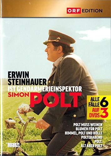 POLT 1-6 (Erwin Steinhauer ist Gendarmerieinspektor Simon Polt) 3 DVDs