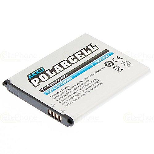 cellePhone PolarCell Akku Li-Ion kompatibel mit Samsung Galaxy S3 (GT-I9300) (Ersatz für EB-L1G6LLUCSTD)