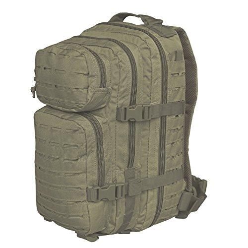 Mil-Tec Mochila US Assault de 20 L Laser Cut Color Verde Oliv
