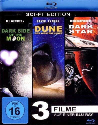 Dune der Wüstenplanet - Dark Star - Dark Side of the Moon (3 Filme) [Blu-ray]