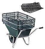 UPP Heavy Duty carriola Booster | Borsa per carriola doppia la capacità della carriola | Trasporta foglie, fieno, frutta e rifiuti da giardino molto più facile e in meno viaggi