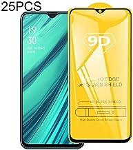 Good 25 PCS 9D Full Glue Full Screen Tempered Glass Film For OPPO Realme C1 Zhaoyy