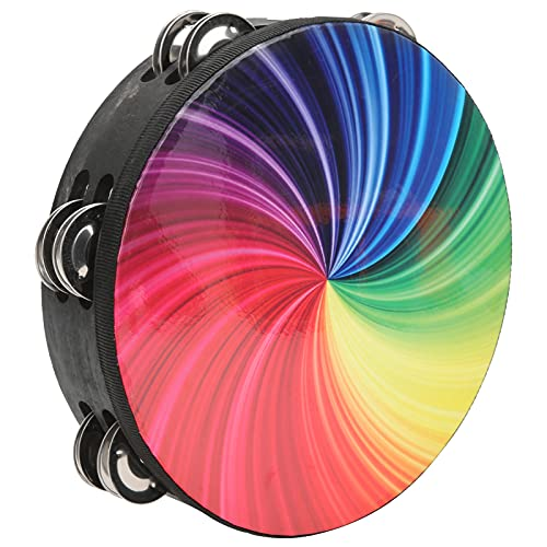 Tambor De Mano, Dobladillo De Pandereta Adopta Un Diseño De Cinturón De Cuerda Fuerte Y Resistente A Los Golpes Para Principiantes(color)