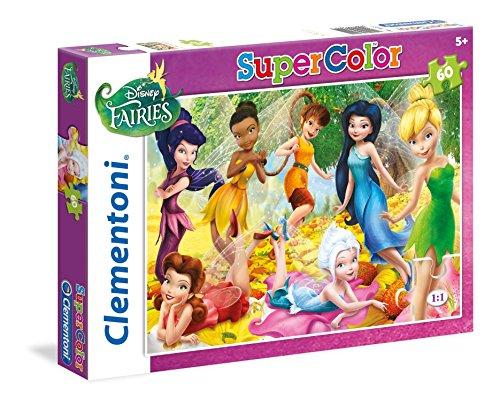 Disney - Puzzle, 60 Piezas, diseño Fairies (Clementoni 269211)