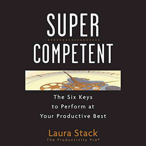 SuperCompetent audiobook cover art