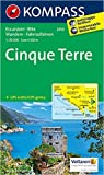 Cinque Terre: Wanderkarte mit Radtouren. GPS-genau. 1:35000 (KOMPASS-Wanderkarten) ( Folded Map, Mai 2015 ) -