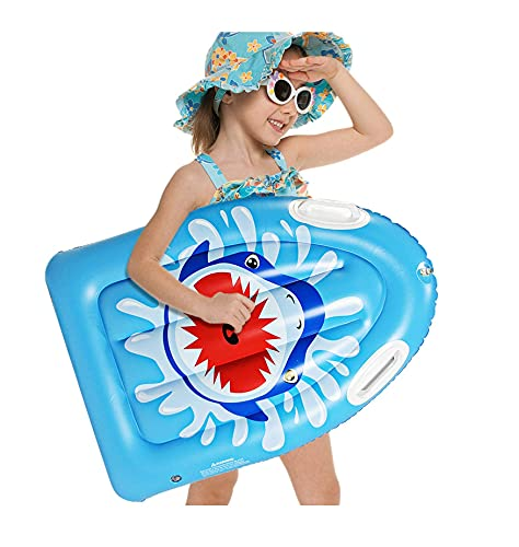 Schwimmreifen Aufblasbarer Körper Surfen Float Board - Surfreiter für Slip und Rutsche Poolwasserspiel, Hilfsmatte lernen, schwimmen, tragbare Board Wave Board Wasserstrand Spaß Spielzeug, für Kinder