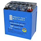 Mighty Max Battery 12V 6AH 100CCA Gel Battery for Honda 250 CMX250C Rebel 1996-2014 Brand Product