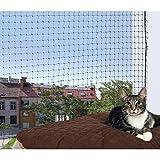 TRIXIE Red protección, 2 x 1.5 m, Negro, Gato