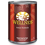 Wellness Complete Health Natural Wet Canned Dog Food, Senior Chicken & Sweet Potato, 12.5-Ounce Can (Pack of 12)