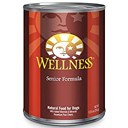 Wellness Canned Soft Dog Food for Older Dogs with Bad Teeth