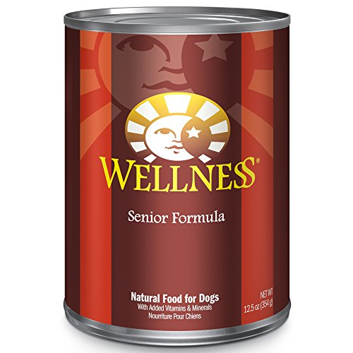 Wellness Complete Health Natural Wet Canned Dog Food Senior Formula