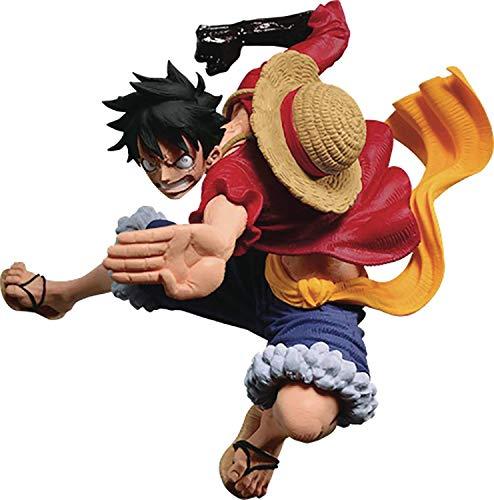 Banpresto-BP16559 Accion, One Piece, World Figure Colosseum Vi Vol 3, Luffy (Bandai BP16559)