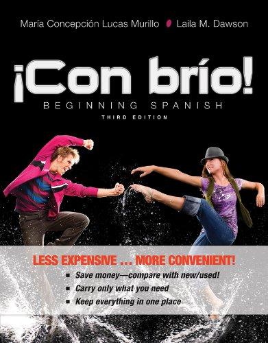 Con brio! 3e Binder Ready Version + WileyPLUS Registration Card