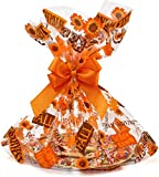 Gift Boutique Plastic Jumbo Thanksgiving Cello Basket Bags Fall Leaves Harvest Cookie Tray...