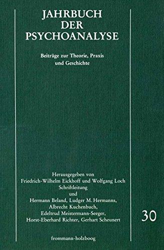Jahrbuch der Psychoanalyse. Bd 30