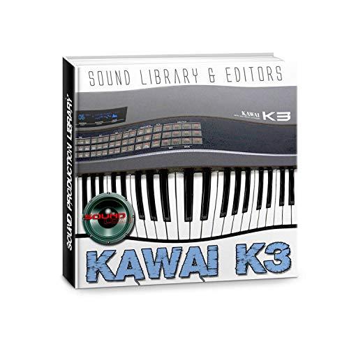 KAWAI K3 - Enorme fábrica original y nueva biblioteca de sonido creada y editores en CD o descargar