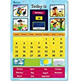 Learning Resources Magnetic Learning Calendar, 51 Magnetic Pieces & Calendar, Measures 12' x 16-1/2', Ages 4+