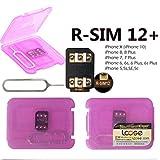 RSIM 12+ R-SIMロック解除アダプタIPhoneX 8P 8 7P 7 6SP 6P 6S 6 5C 5S 5 iOS11 対応 SIM関連アクセサ