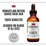 Cremo Revitalizing Beard Oil, Restores Moisture, Softens and Reduces Beard Itch for Facial Hair of All Lengths, Mint… 4