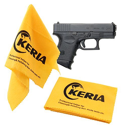 Keria 100% Cotton 2 Pack Gun Care Silicone Cleaning Cloth Size 12'x12',Firearm Accessories Cleaning Products