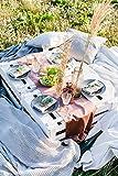 100%Mosel Tischläufer Samt, in Altrosa (28 cm x 5 m),Tischband aus Polyester in Matter Samt-Optik, edle Tischdeko für den Herbst & Winter, Dekoration zu besonderen Anlässen - 6