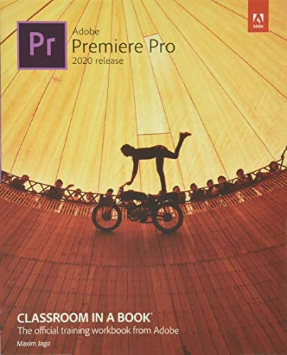 Adobe Premiere Pro Classroom in a Book 2020 release product image