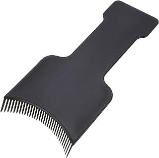 AMAA フラットトップパドルセットヘアハイライトセクショニング櫛セットヘアカラーパドルセット (黒)