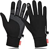 Winter Gloves, Lightweight Running Gloves Warm Gloves Liners for Running Driving