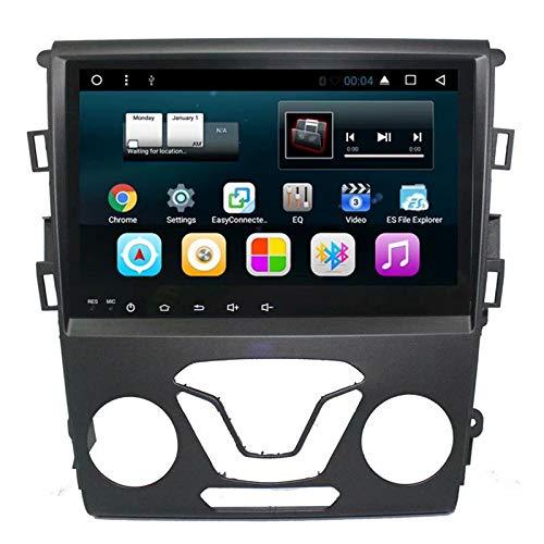 TOPNAVI 9pouces 2Din Autoradio pour Ford Mondeo 2013 2014 2015 2016 2017 Android 7.1 Autoradio GPS Navigation Lecteur stéréo WiFi 3G RDS Lien Miroir Audio Vidéo