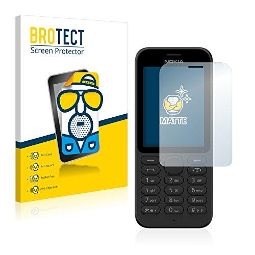 BROTECT 2X Entspiegelungs-Schutzfolie kompatibel mit Nokia 215 (Microsoft) Bildschirmschutz-Folie Matt, Anti-Reflex, Anti-Fingerprint