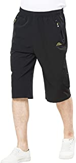 Men's Outdoor Water-Resistant Lightweight Quick Dry Cargo Shorts