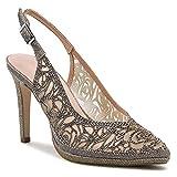 MENBUR 022270 VINADIO - Zapatos de tacón de mujer con hebilla y correa gris Gris Size: 36 EU